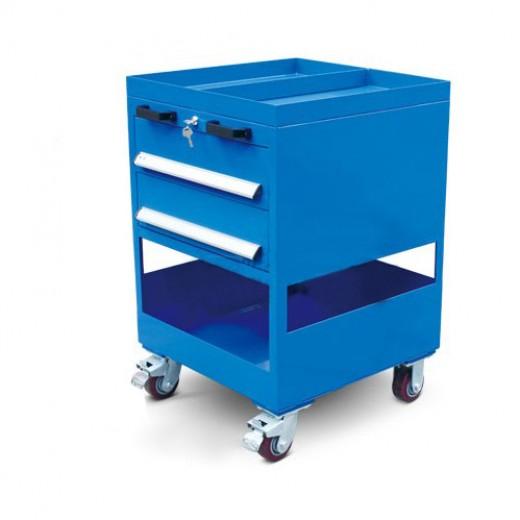 钢板工具车(2层抽屉)