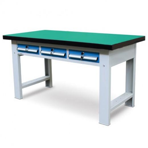 三抽重型工作桌