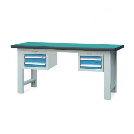 双吊柜重型工作桌
