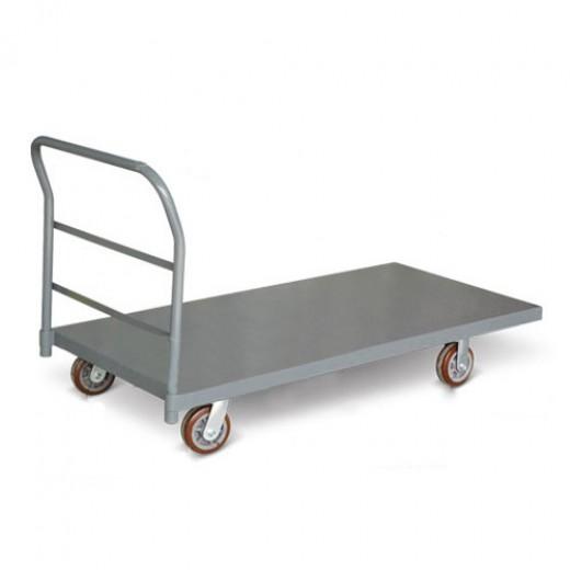 重型钢制平板推车