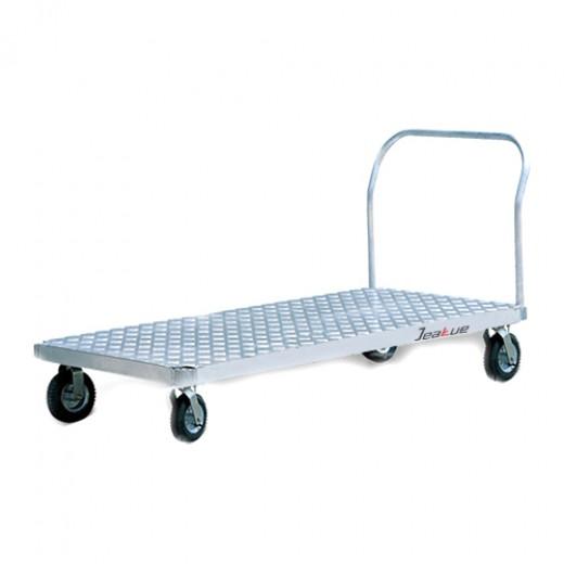 铝制平板推车