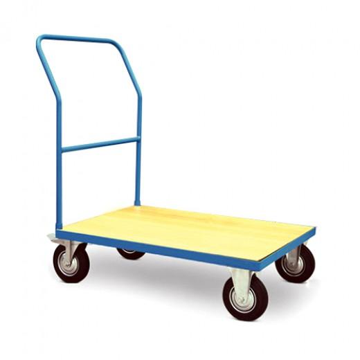 单层木制手推车
